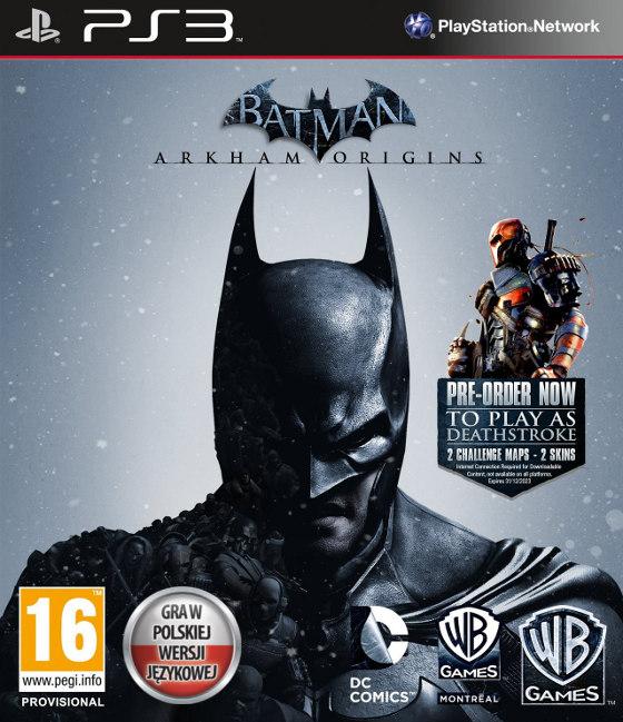 Batman Arkham Origins + 2 DLC za 76 zł z przesyłką @ Blackgames