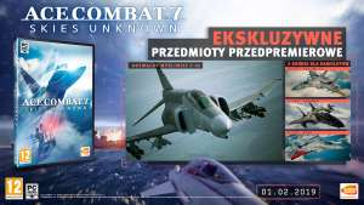 Gra Ace Combat 7 na PC, R5V EURO AGD