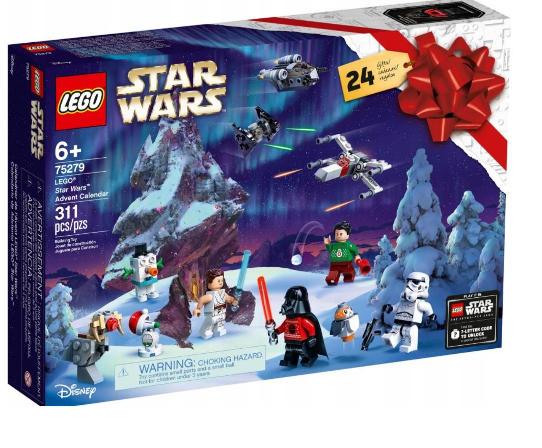 LEGO STAR WARS kalendarz adwentowy 75279