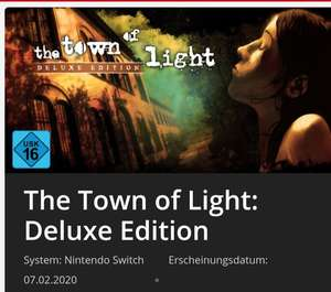 The Town of Light: Deluxe Edition Nintendo Switch