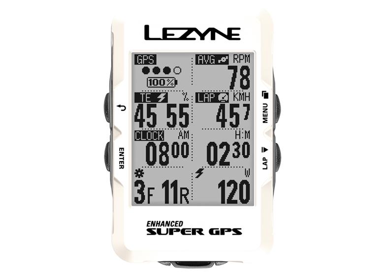 Licznik rowerowy LEZYNE Super GPS