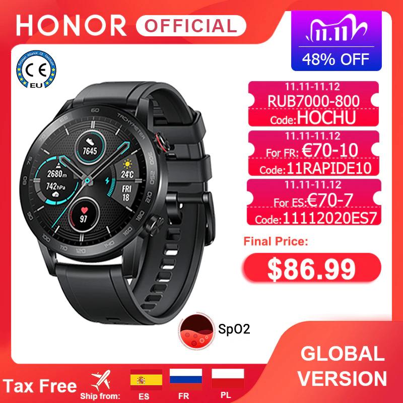 Smartwatch Honor Magic Watch 2 46mm z Polski (Honor Watch ES za $74.99) @AliExpress