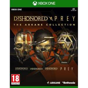 Dishonored And Prey: The Arkane Collection Gra XBOX ONE SERIES X/PS4