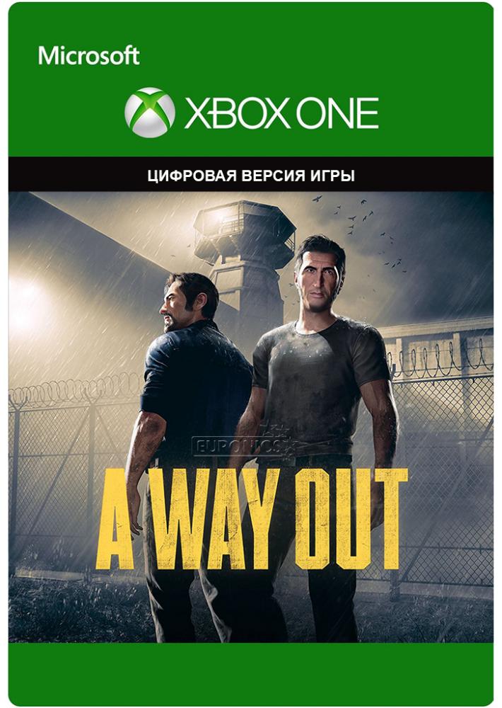 A Way Out (KLUCZ XBOX ONE) VPN 355.35 RUB (przy braku EA Play)