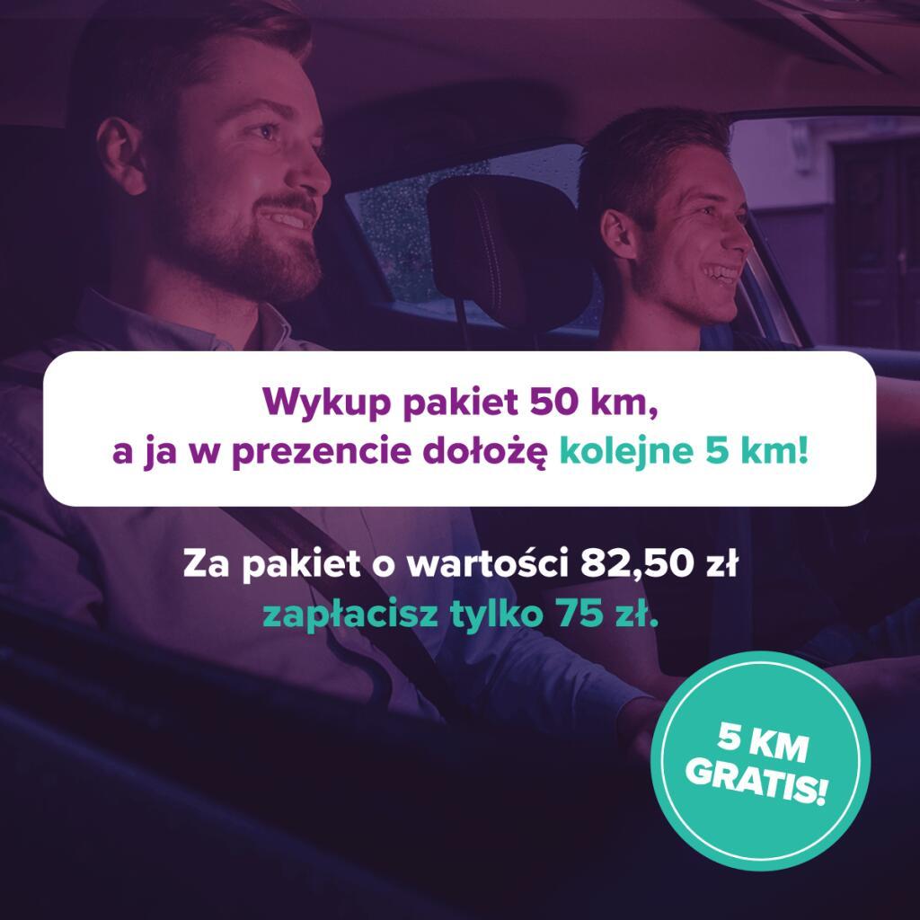 [Traficar] Promocja na pakiet kilometrów