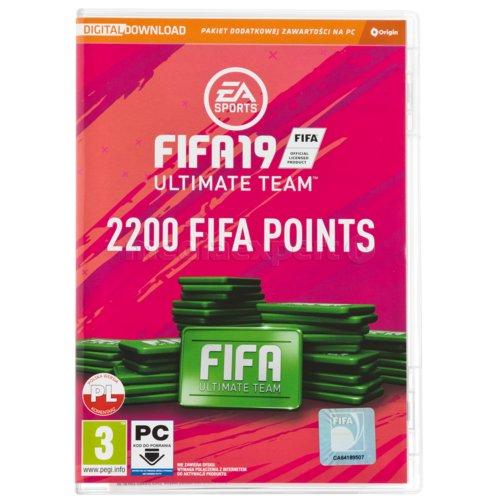 FIFA 19 - 2200 punktów CIAB Gra PC