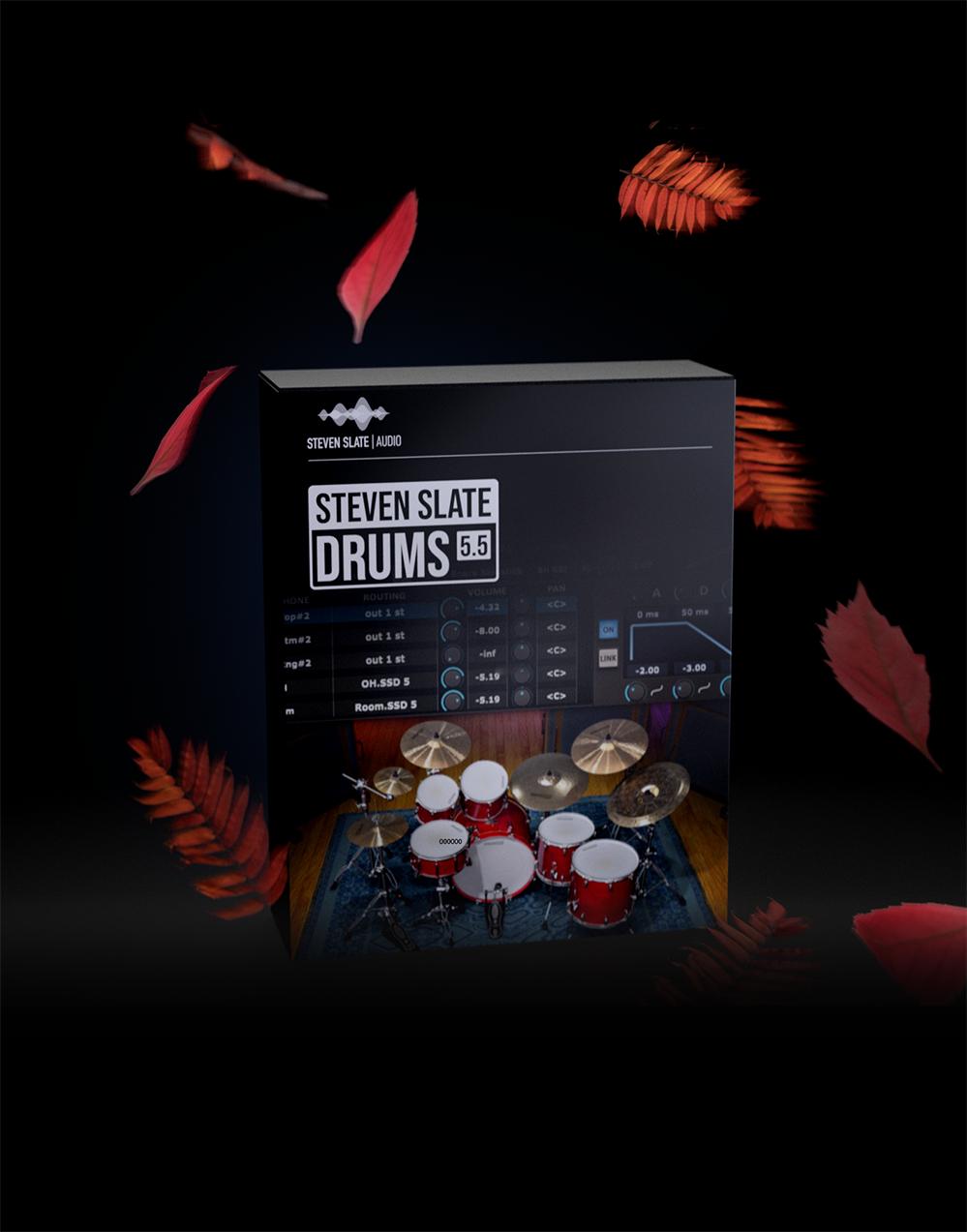 Steven Slate Drums 5.5 (SSD 5.5) VST $59