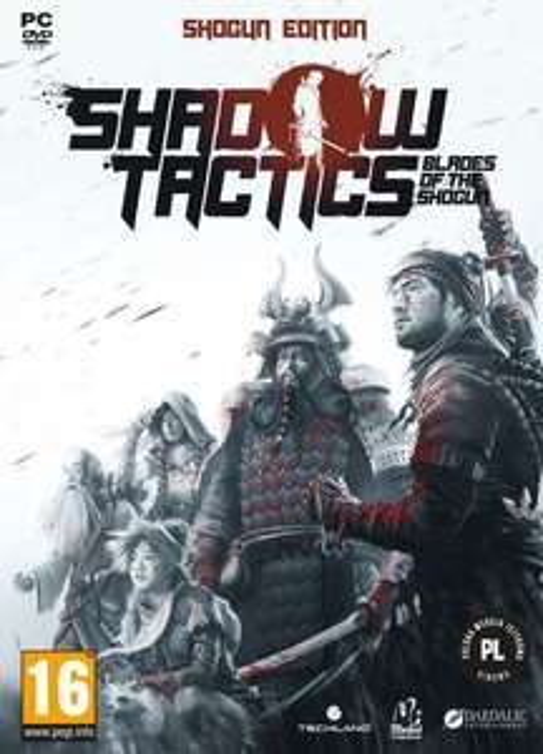 Shadow Tactics: Blades of Shogun PC PL Steam