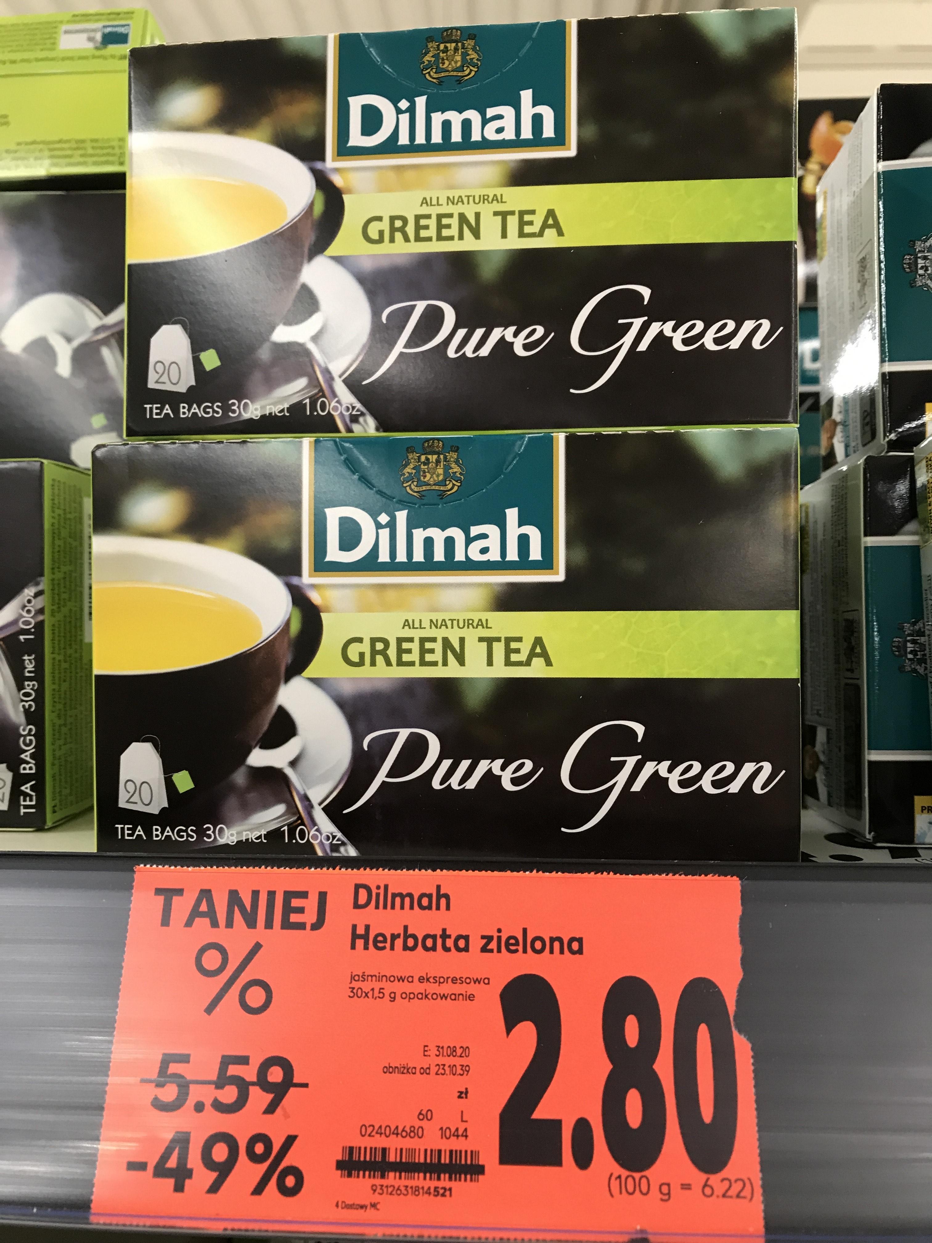 Herbata zielona Dilmah 20 torebek- Kaufland