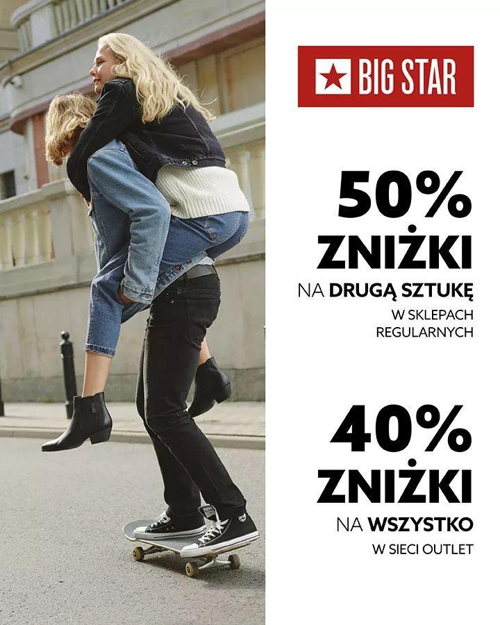 Big Star Promocja w sklepach stacjonarnych