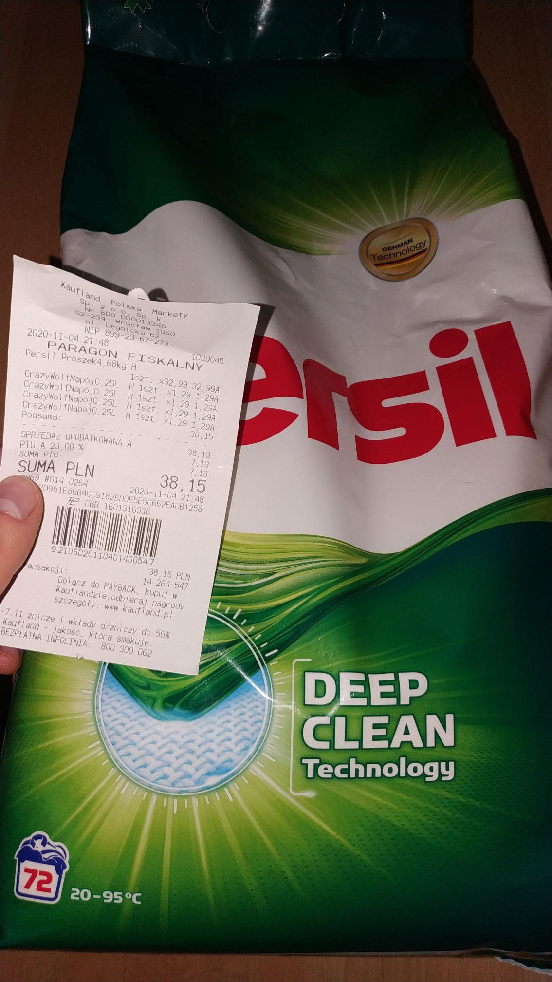 Proszek do prania Persil 4.68kg kaufland