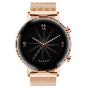 Smartwatch HUAWEI Watch GT 2 Elegant 42 mm Złoty