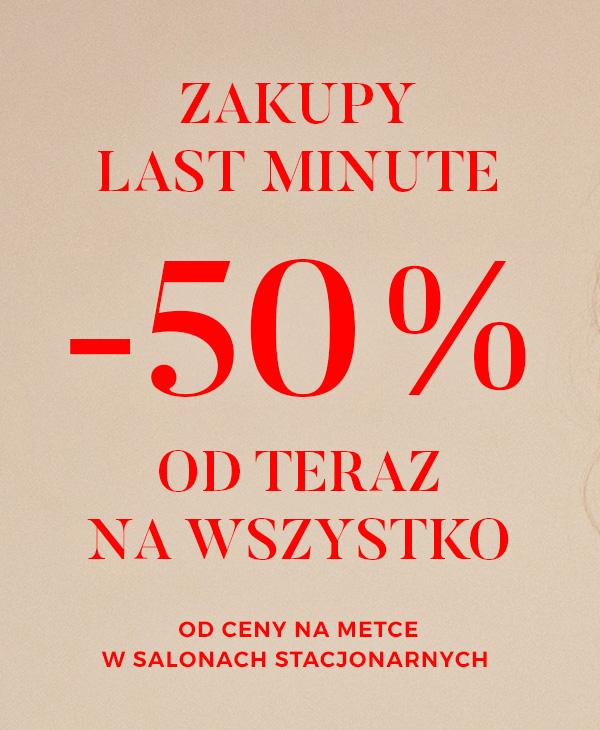 Tatuum - wszystko 50% w sklepach stacjonarnych
