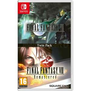 Final Fantasy VII + VIII Remastered - Twin Pack NINTENDO SWITCH