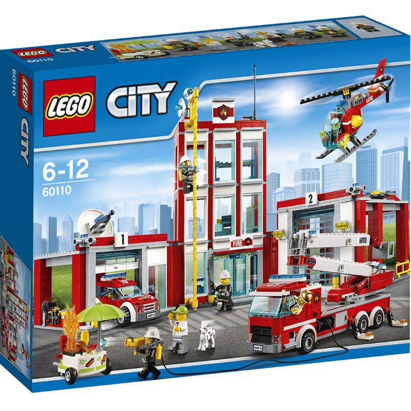 Lego City Remiza Strażacka (60110) za 299,99zł @ E.Leclerc