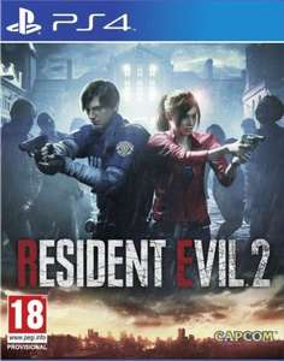 Resident Evil 2 (PS4) MUVE PROMOCJA