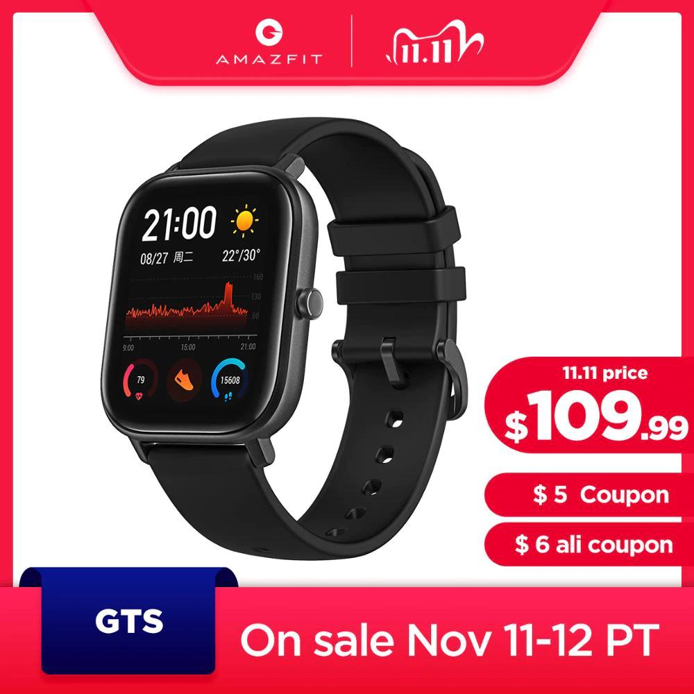 Smartwatch Amazfit GTS z wysyłką z Polski @AliExpress
