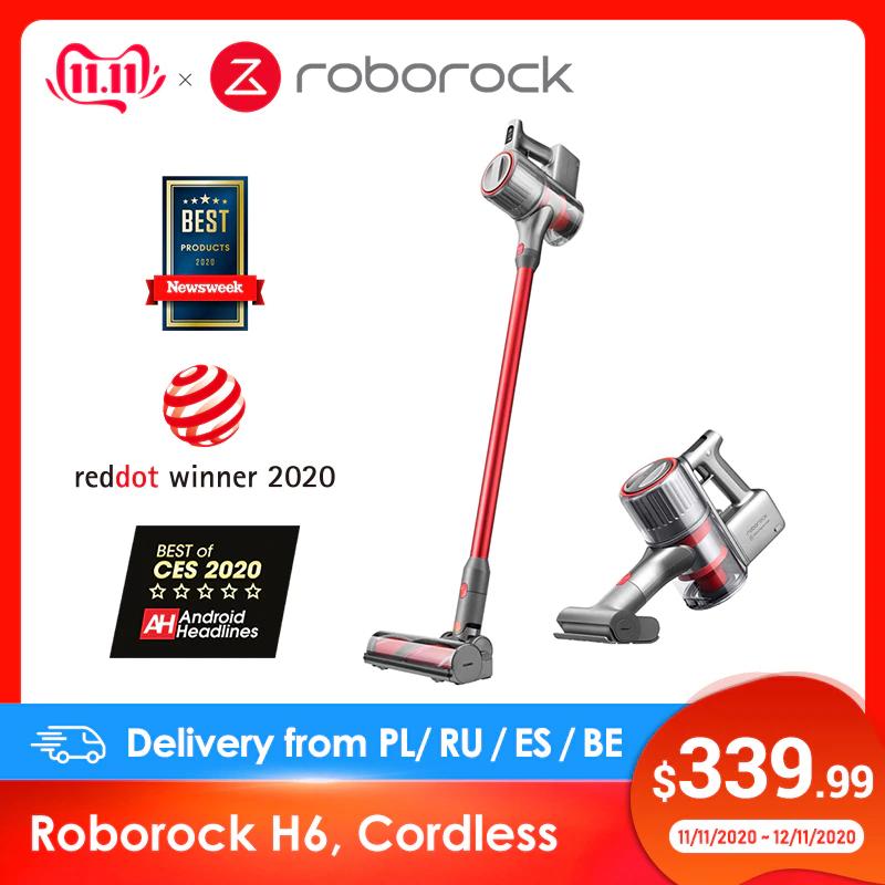 Odkurzacz bezprzewodowy Roborock H6