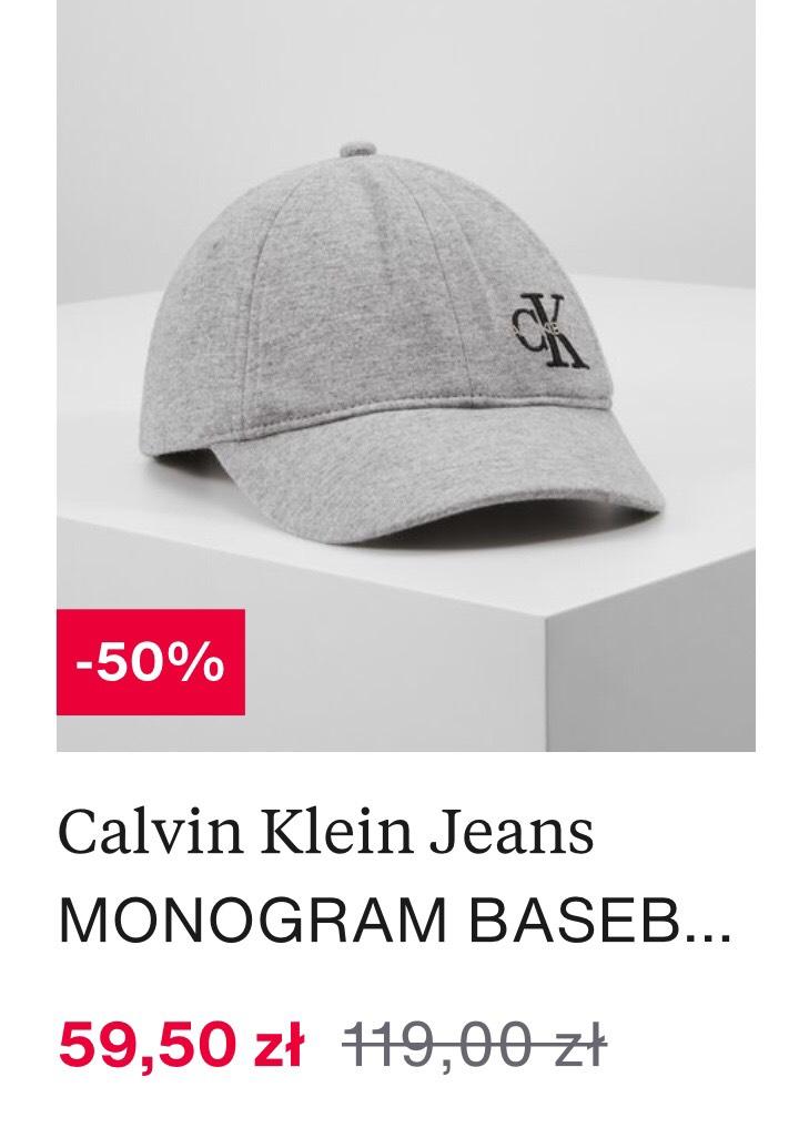 Czapki z daszkiem dziecięce Calvin Klein Jeans -50% ZALANDO