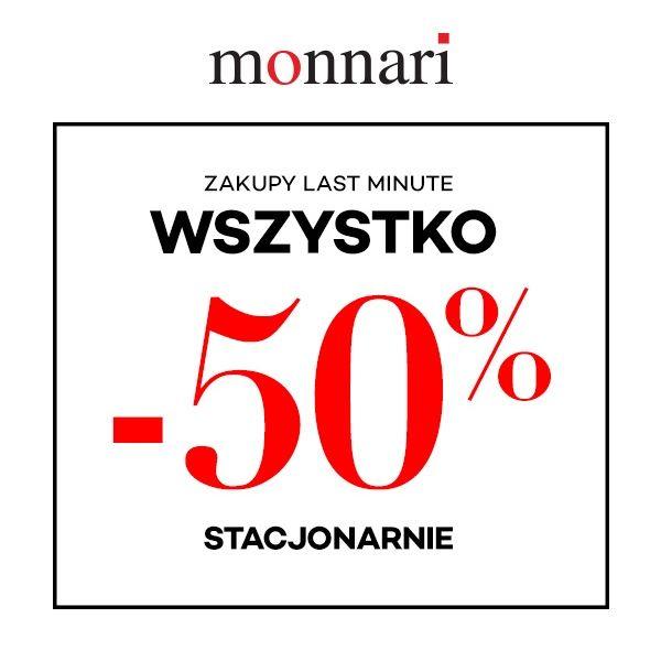 Wyprzedaże do 50% Monnari / 5.10.15 / Top Secret / VESTUS