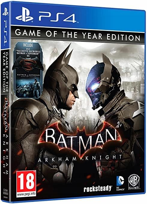 BATMAN ARKHAM KNIGHT GOTY PS4 NOWA DLC