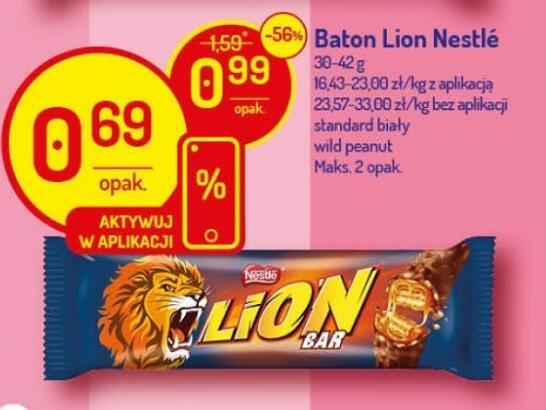 Baton Lion 30-42g 3 rodzaje @Delikatesy Centrum