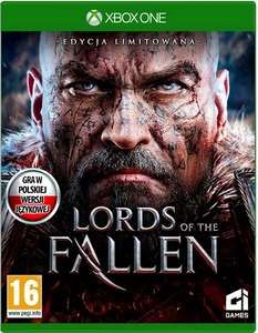LORDS OF THE FALLEN Limited edition DLC NOWA - PL @ Xbox One