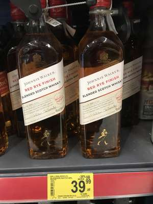 Whisky Johnnie Walker Red Rye Finish 0,7l- Carrefour