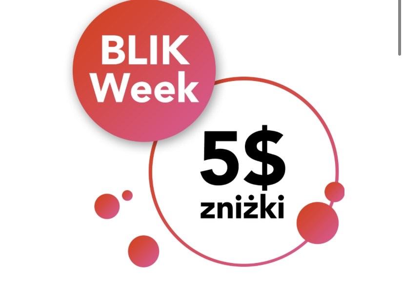 Blikweek na aliexpress. Zniżka 5/60$ przy płatności blikiem