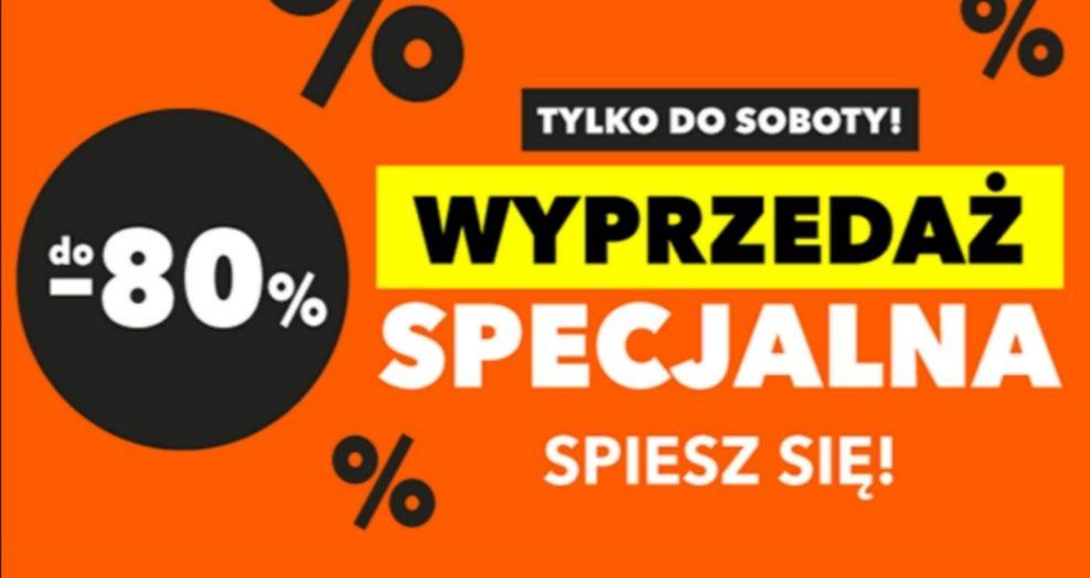 WYPRZEDAŻ SPECJALNA w Euro RTV AGD na telewizory do - 80%