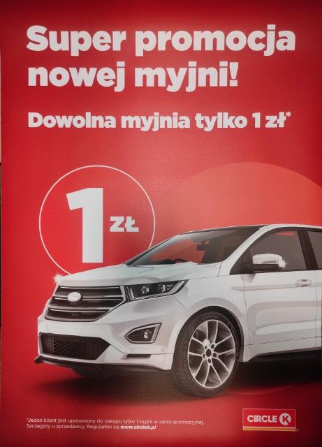 Myjnia za 1zl Kraków Ciercle K