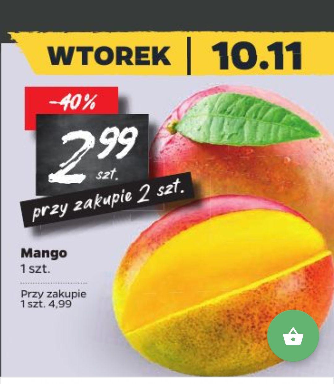 Mango 1szt. (cena przy zakupie dwóch) w Netto