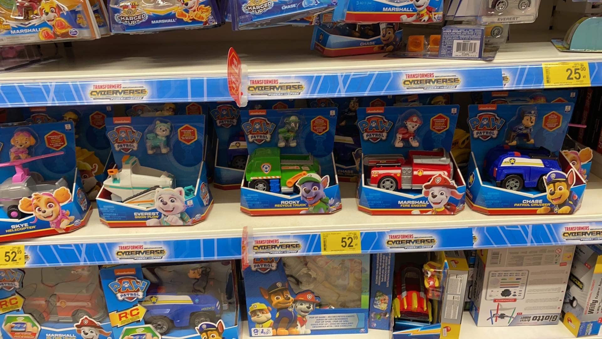 Spin master Psi Patrol pojazdy ratunkowe Carrefour Czyżyny