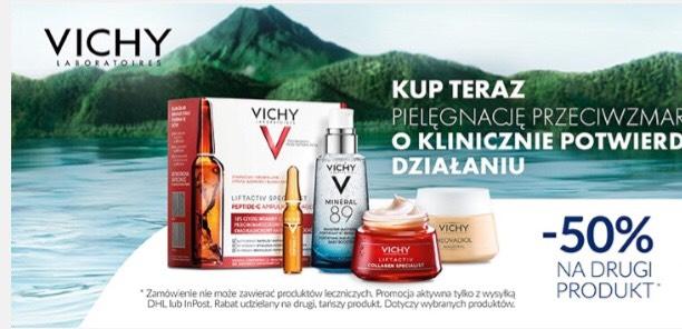 Vichy -50% na drugi produkt DOZ.pl