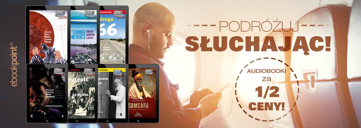 Audiobooki za 1/2 ceny @ ebookpoint