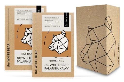 KAWA ZIARNISTA TOLIMA ARABICA the WHITE BEAR 2 kg Możliwa darmowa dostawa ze smartem.