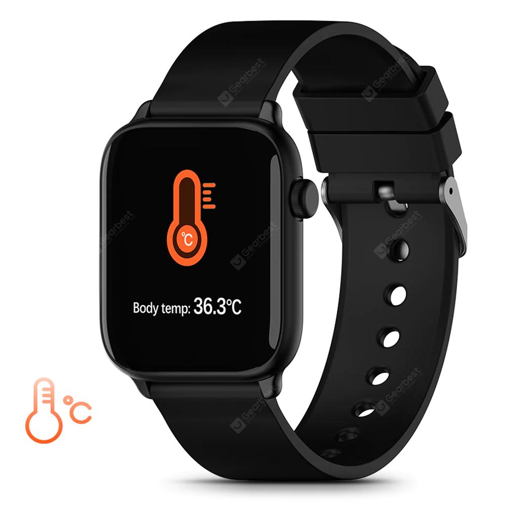 IP68 TICWRIS GTS Smartwatch z pulsoksymetrem