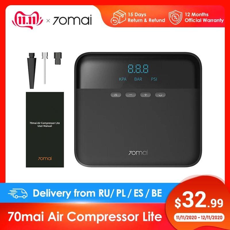 70mai Air Compressor Lite (sprężarka powietrza) @aliexpress wysyłka z Polski