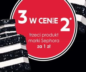 3 produkty marki Sephora w cenie 2 @ Sephora