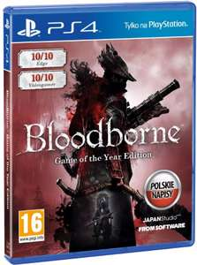 (PS4) Bloodborne: Game of the Year
