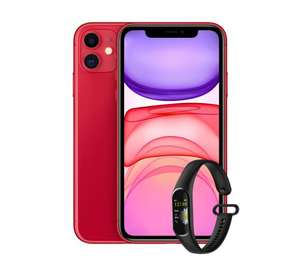 Apple iPhone 11 64GB (PRODUCT) RED + opaska FW20