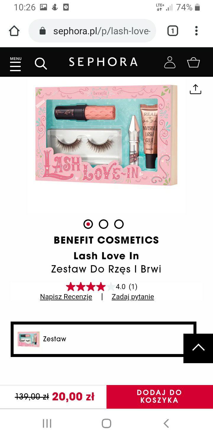 Sephora -80% zestawy click&collect
