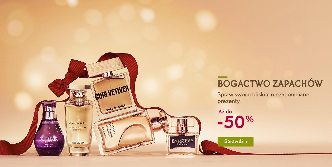 Yves Rocher perfumy gratis 50ml MWZ 99zł Moment de Bonheur