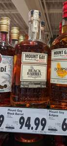 Rum Mount Gay Black Barrel Double Cask Blend 0,7 L - Kaufland