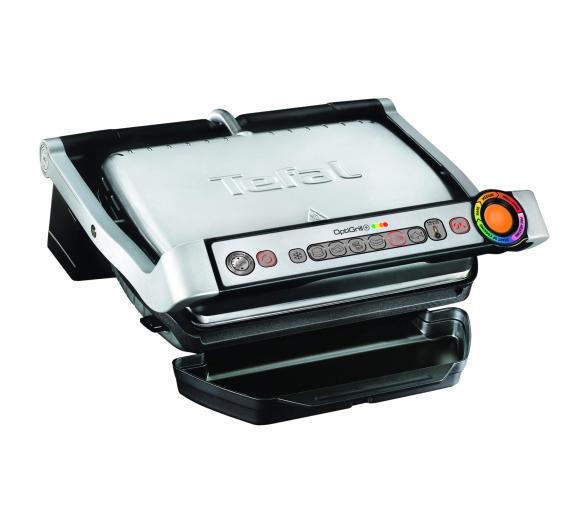 Tefal OptiGrill GC716D12 + płyty do gofrów za 599zł + Gratis Rozdrabniacz Tefal MB300