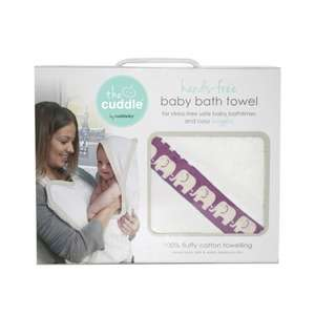 Ręcznikofartuch do wycierania dziecka