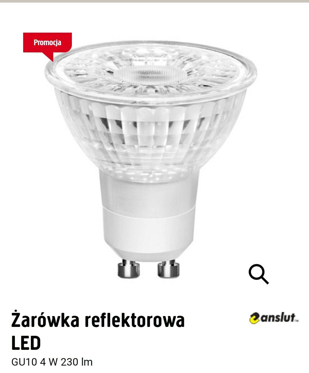 Żarówka reflektorowa LED GU10 4W 230lm