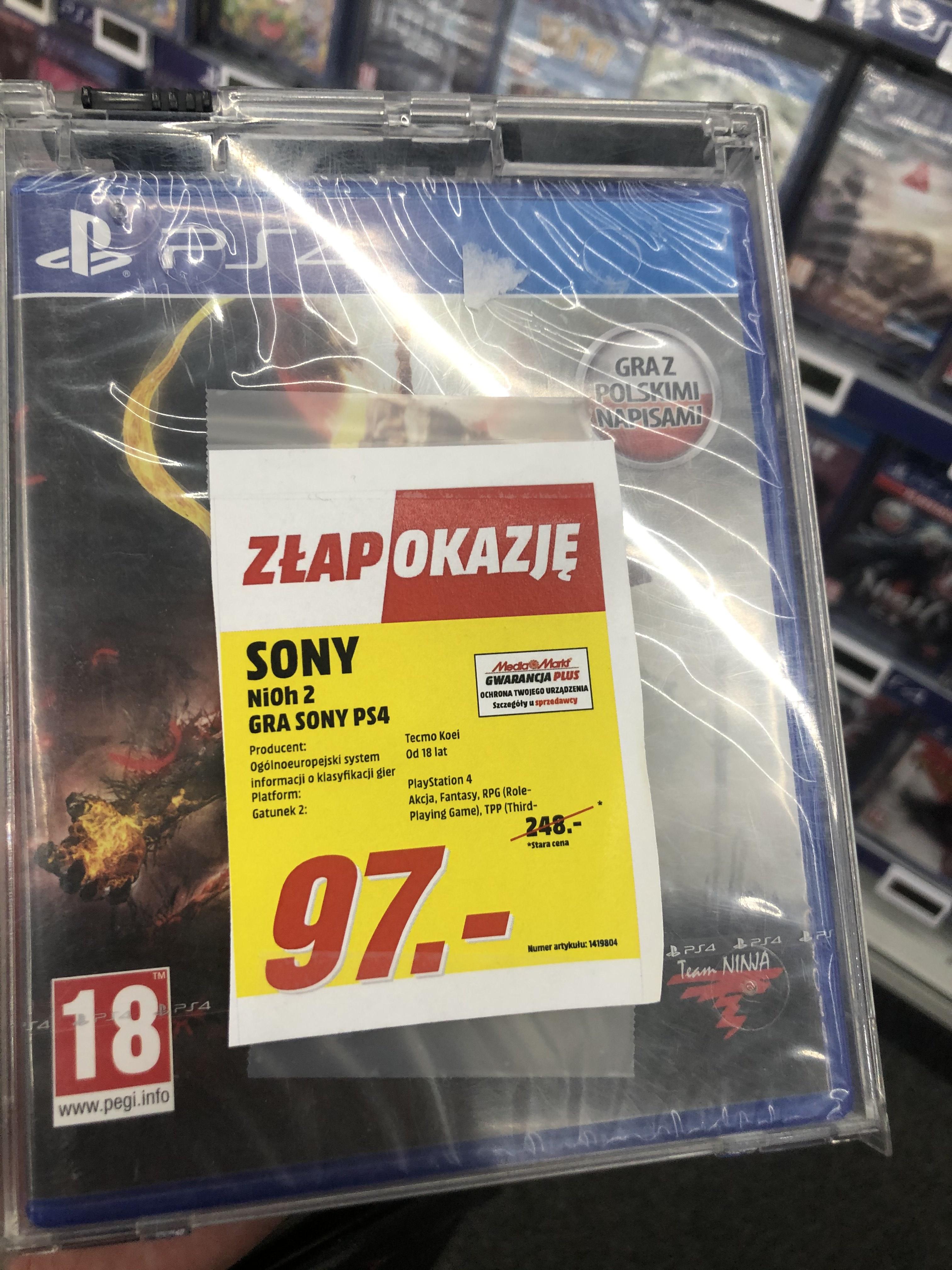 Nioh 2 PS4 - Media Markt