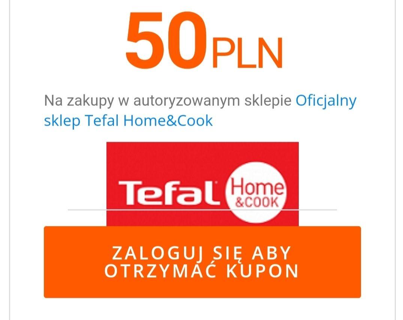 Tefal kupon 50/250zł w oficjalnym sklepie Tefal na Allegro