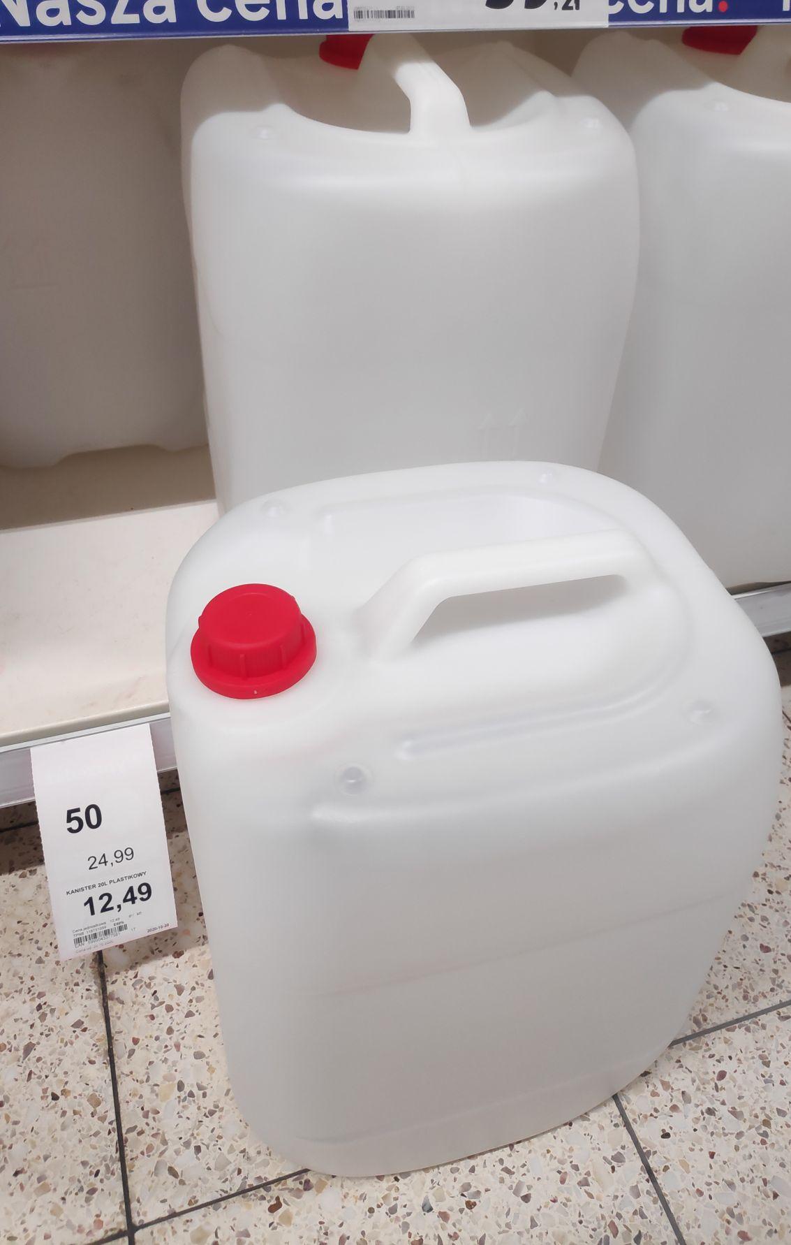 Kanister plastikowy 20L
